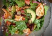 Prawn and avo salad